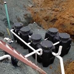 Drain line technicians project